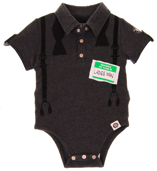 MINI SHATSU LADIES MAN POLO - INFANT