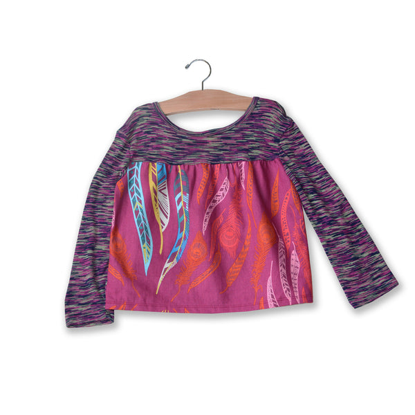 Falling Feathers Tallulah Top