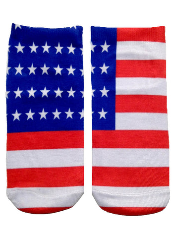 LIVING ROYAL UNITED STATES OF AMERICA ANKLE SOCKS