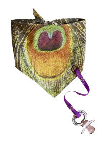 Electrik Kidz Bandana Peakock Feather