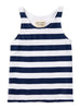 Friday Squared Blue Stripe Tank