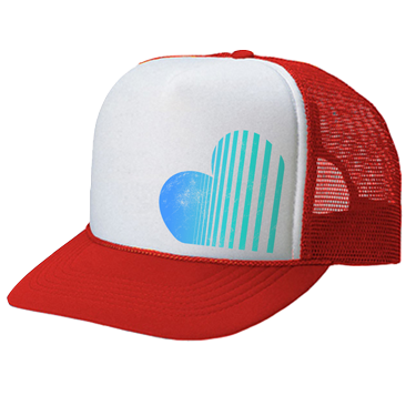 HEART TRUCKER HAT
