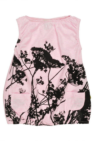 NUI NOEMI DRESS PINK GRASSES