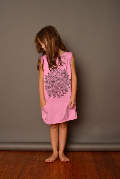NUI NOEMI DRESS FUCHSIA DAHLIA