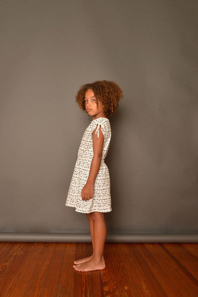 NUI LANA DRESS LINE DOTS