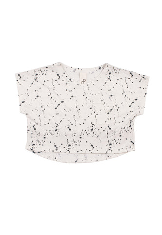 POPUP SHOP STRUCTURE LOOSE TEE-SPLASH PRINT