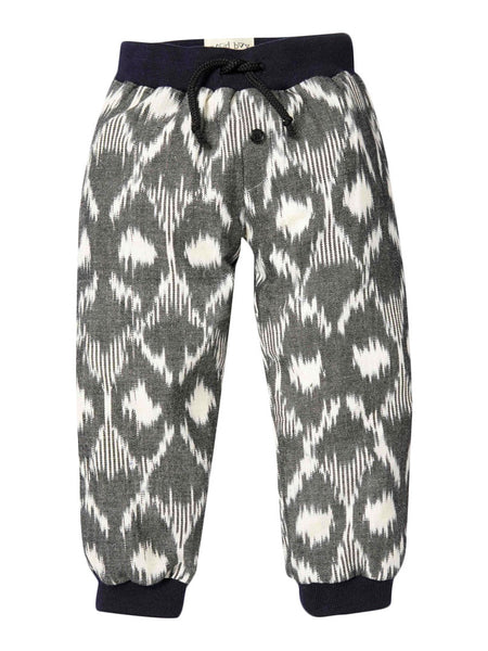 Friday Squarted Ikat Sweatpants