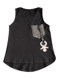 Electrik Kidz Tank Top - Black