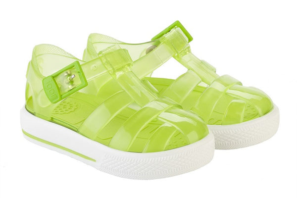 IGOR 'TENIS' FISHERMAN JELLY SANDAL GREEN