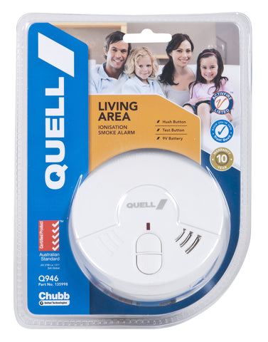 Living Area Ionisation Smoke Alarm