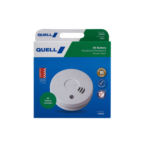 Photoelectric Smoke Alarm - Bedroom/Hallway (Trade Pack)