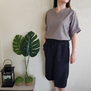 Mae Textured Top (Ash)
