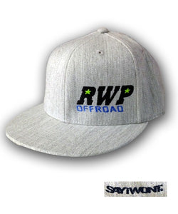 RWP OFFROAD Flatbill Flex - Heather Gray