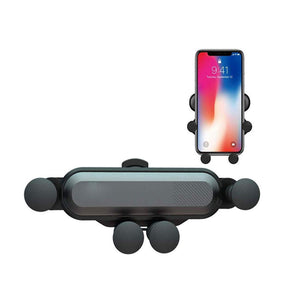 A One Adjustable Car Cell Phone Holder Dashboard, Gravity Universal Air Vent Phone Mount Stable Car Cradle for Smartphones and Mini Tablet(Random Color)