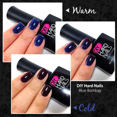 Blue Bombay (Color Changing) - DIY Hard Nails