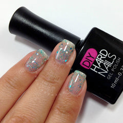 Blue Cocktail - DIY Hard Nails