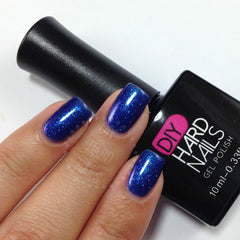 Blue Velvet - DIY Hard Nails