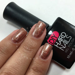 Bronze Glitz - DIY Hard Nails