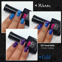 Classic Galaxy (Color Changing) - DIY Hard Nails