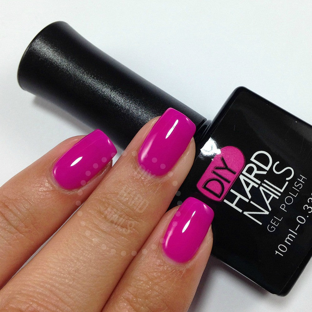 Electric Raspberry - DIY Hard Nails