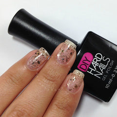 Golden Starlight - DIY Hard Nails