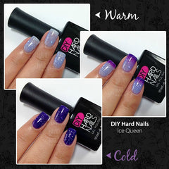 Ice Queen (Color Changing) - DIY Hard Nails