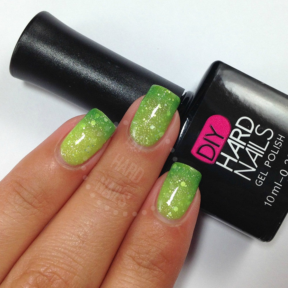Jade Glitz | Color Changing Gel Nail Ombre | Best - At Home Gel ...