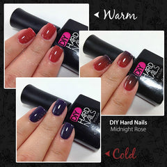 Midnight Rose (Color Changing) - DIY Hard Nails