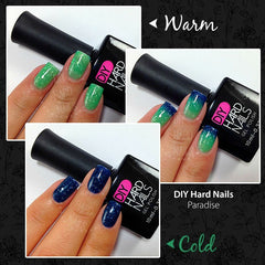 Paradise (Color Changing) - DIY Hard Nails