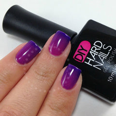 Purple Rain (Color Changing) - DIY Hard Nails