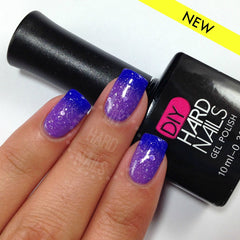 Purple Tonic (Color Changing Ombre) - DIY Hard Nails