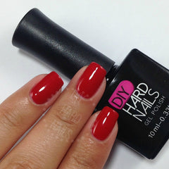 Red Carpet - DIY Hard Nails