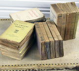 4 sets of 5 vintage French books