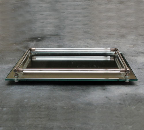 A 1960's Mirrored Tray