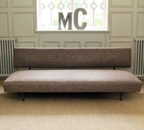 A Bronze Brown 1950's French Sofa