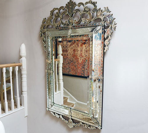 A Very Large Venetian Mirror