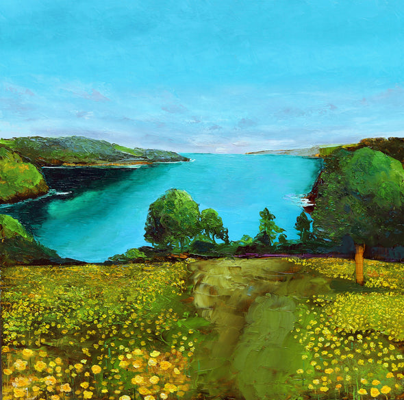 Buttercups at Trelissick, Cornwall