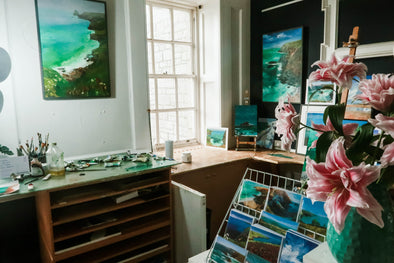 Art Experience Paint Cornwall workshops
