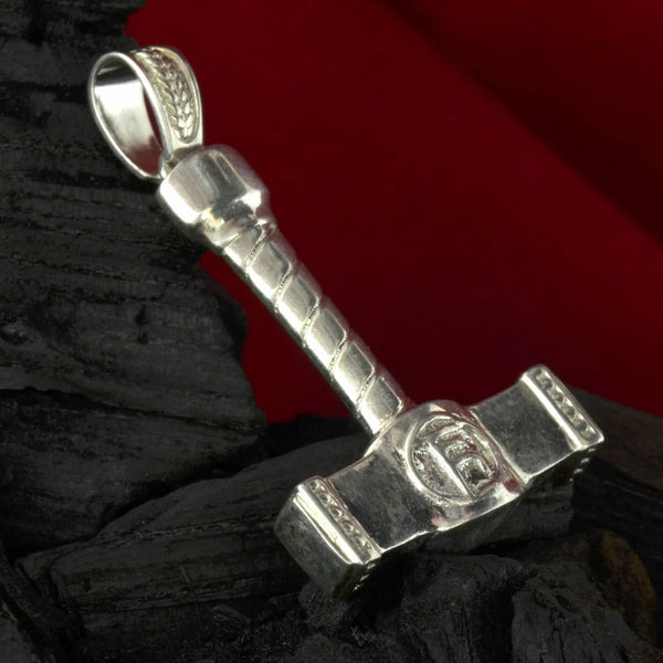 Sterling Silver Thor S Hammer Pendant Quot Protector