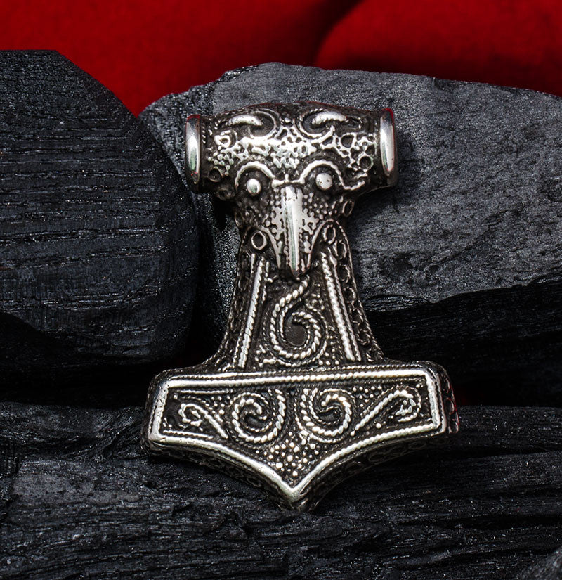 Sterling Silver Thor S Hammer Pendant Quot Sweden