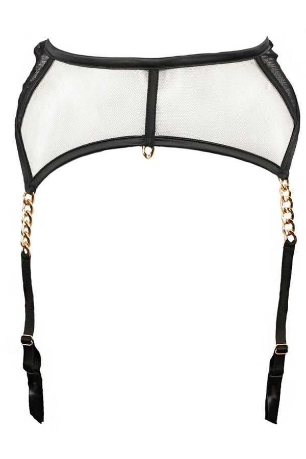 ELIXIR Suspender Belt Black