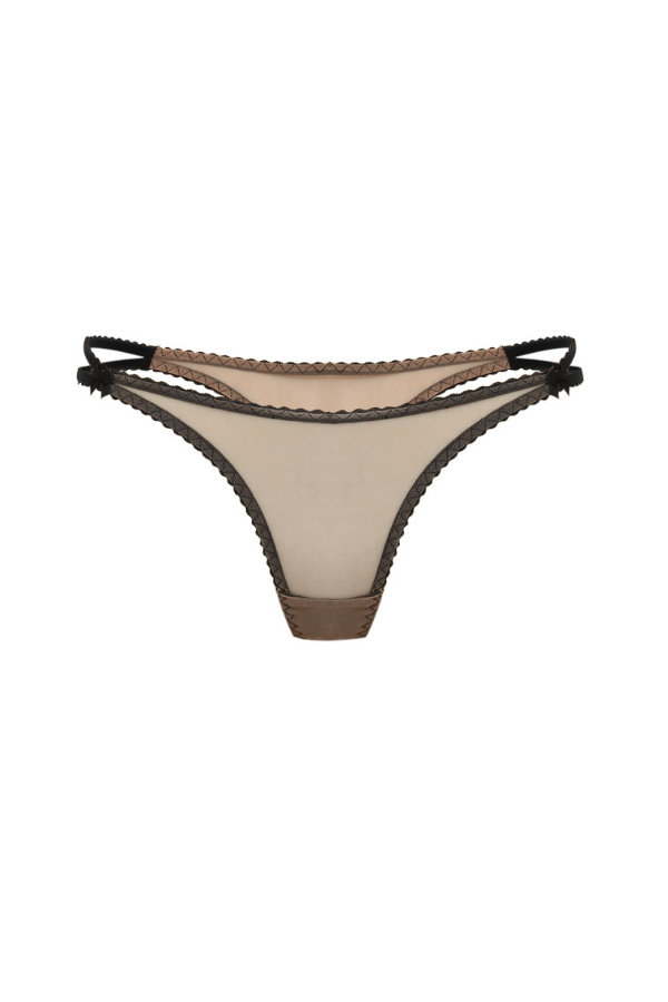 Perilla Caffe Latte Thongs