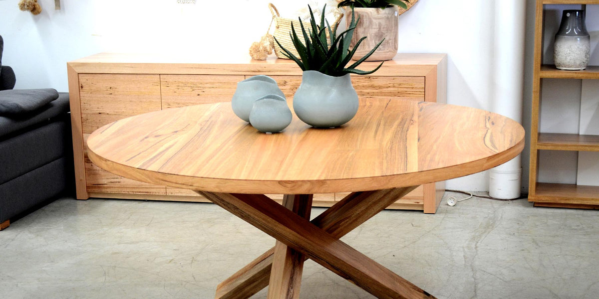 WA Made Marri Jarrah Dining Tables Cellar Bar General Store Furniture Homewares