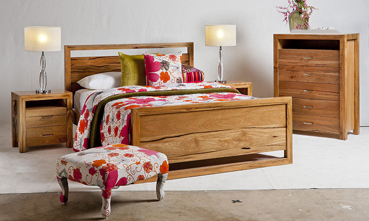 Alana Queen or King Bed Marri. Alana Marri and Jarrah Queen or King Bed WA Made   General Store