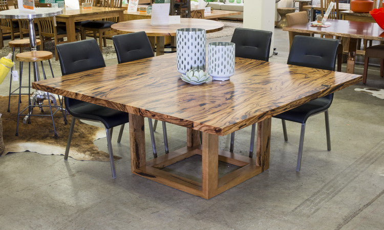 Cube Square Dining Table Marri And Jarrah Wa Made General Store Furniture Homewares