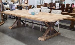 French Industrial Dining Table