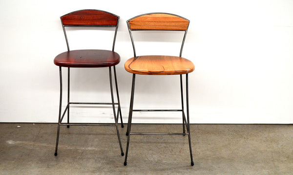 Iron Back Bar Stools