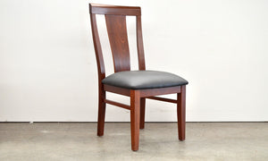 Longreach Dining Chair  Available in Jarrah or Marri Upholstered or Timber Seat WA Made