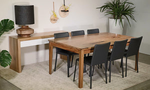 Manta MKII Dining Table W.A. Marri Custom made to size Also available in W.A. Jarrah WA Made locally Australian