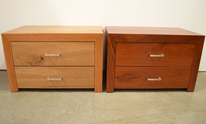 Metropol 2 Drawer Bedside